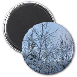 Snowyの森林 マグネット