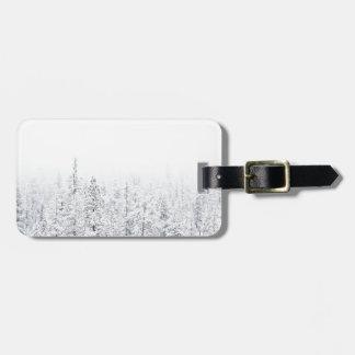 Snowyの森林 ラゲッジタグ
