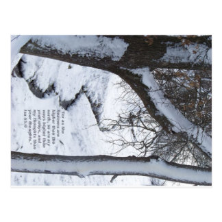 Snowyの流れ ポストカード