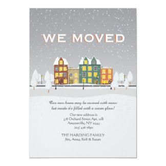 Snowyの移動発表 カード