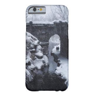 Snowyの谷間のスパンのアーチの下のカップルの歩く Barely There iPhone 6 ケース