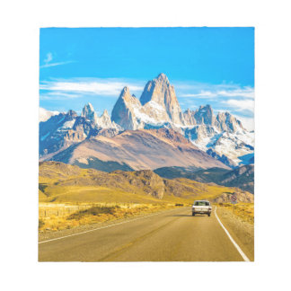 Snowyアンデス山、El Chalten、アルゼンチン ノートパッド