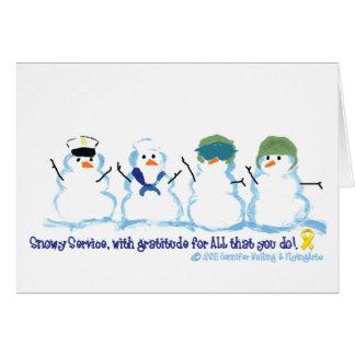 SnowyサービスNotecards カード