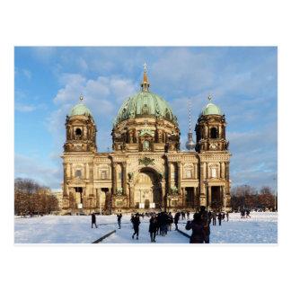 Snowyベルリンのカテドラル ポストカード