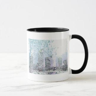 Snowy場面 マグカップ
