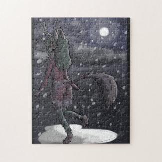 Snowy夜ジグソーパズル ジグソーパズル