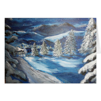 Snowy夜 カード