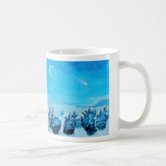 Snowy夜 コーヒーマグカップ