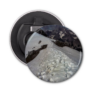 Snowy山の足跡の栓抜き 栓抜き