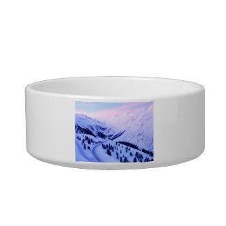 Snowy山上の日の出 ボウル