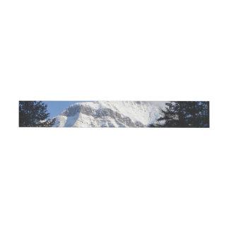 Snowy山 ラップアラウンド宛名ラベル