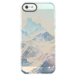 Snowy山 Permafrost iPhone SE/5/5sケース