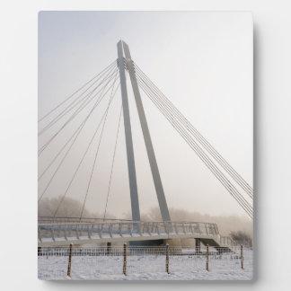 Snowy橋 フォトプラーク