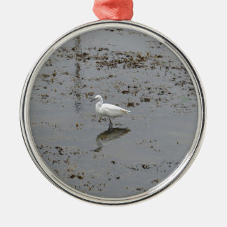 Snowy白鷺 メタルオーナメント
