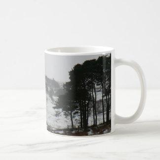 Snowy Cumbrianの冬場面 コーヒーマグカップ