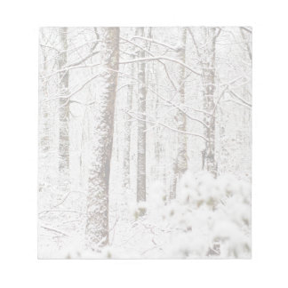 Snowy Poconoの不思議の国 ノートパッド