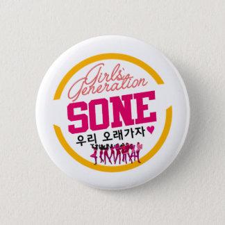 SNSD SONE 5.7CM 丸型バッジ