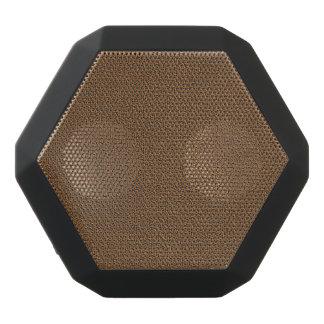 Snugglyのコーヒーブラウンのスエードの質の一見 ブラックBluetoothスピーカー