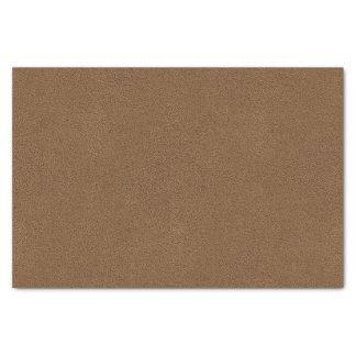 Snugglyのコーヒーブラウンのスエードの質の一見 薄葉紙