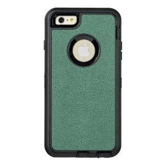 Snugglyのヒスイ緑のティール(緑がかった色)のスエードの質の一見 オッターボックスディフェンダーiPhoneケース
