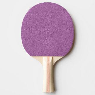 Snugglyのフランスのな薄紫のラベンダーのスエードの一見 卓球ラケット