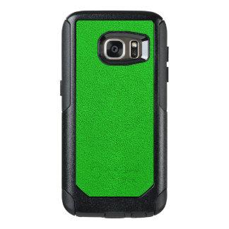 Snugglyの明るいネオン緑のスエードの一見 オッターボックスSamsung Galaxy S7ケース