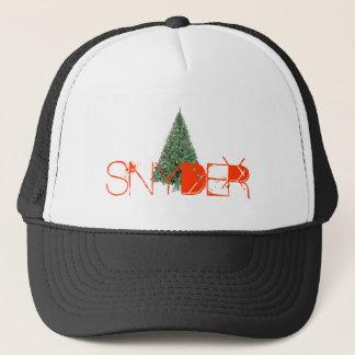 SNYDERのクリスマスのトラック運送の帽子 キャップ