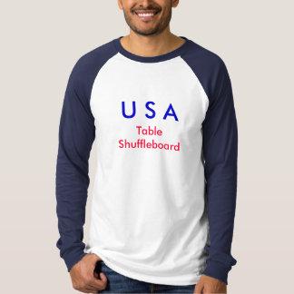 Snyderのバー及びグリルのShuffleboard Tシャツ