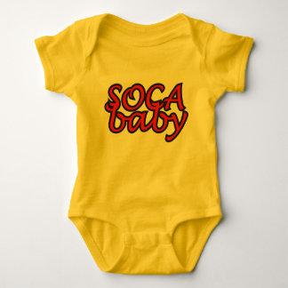 SocaのベビーTワイシャツ ベビーボディスーツ
