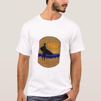 SOCALのクラシック1969の太平洋のビーチ Tシャツ