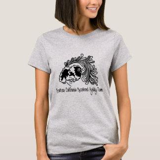 SoCalのKeeshondの敏捷のチーム Tシャツ