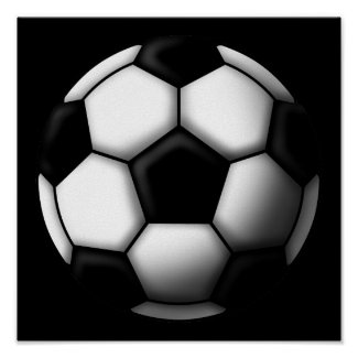 soccer ball 2 プリント