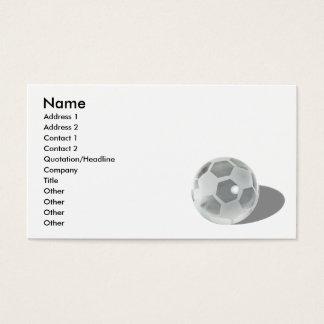 SoccerCrystalBall092110の名前、住所1、Addre… 名刺