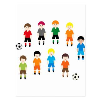 SoccerTeam9 ポストカード