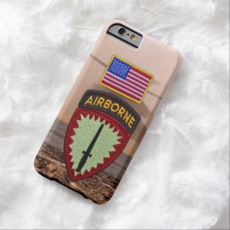 SOCEURの特別なopsのヨーロッパの退役軍人の獣医パッチ Barely There iPhone 6 ケース