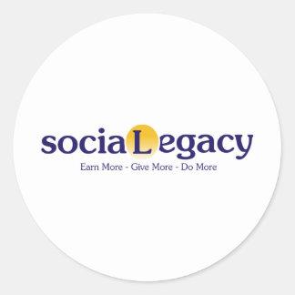 sociaLegacy ラウンドシール