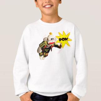 SockMonkeyの極度の英雄 スウェットシャツ