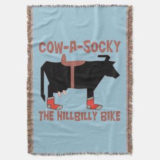 Sockyを田舎者のバイクあらゆる色脅かして下さい スローブランケット