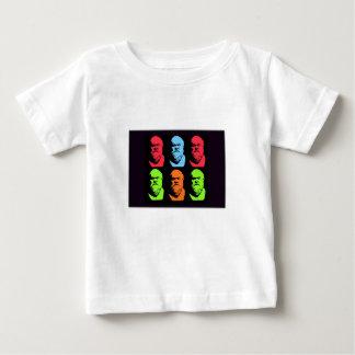Socratesのコラージュ ベビーTシャツ