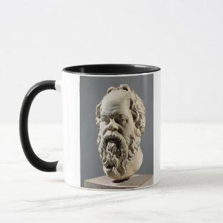 Socratesの大理石の頭部、からの青銅からのコピー マグカップ