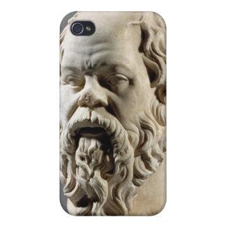 Socratesの大理石の頭部、からの青銅からのコピー iPhone 4/4Sケース