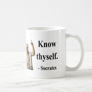 Socratesの引用文5b コーヒーマグカップ
