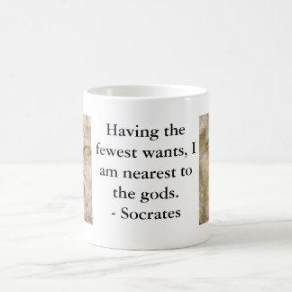 Socratesの引用語句 コーヒーマグカップ