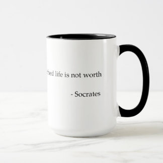 SocratesのQuotable引用文の哲学のコーヒー・マグ マグカップ