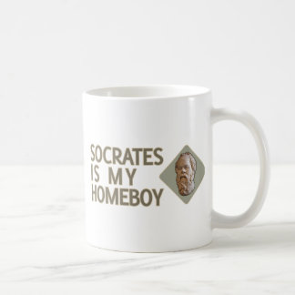 Socratesは私の同郷人です コーヒーマグカップ