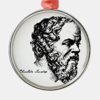 Socrates: 人 メタルオーナメント