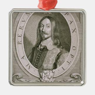 SodeのヨハンAxelsson Oxenstiernaの(1611-57年の)カウント メタルオーナメント