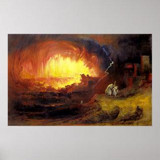 SodomおよびGommorahの破壊 ポスター