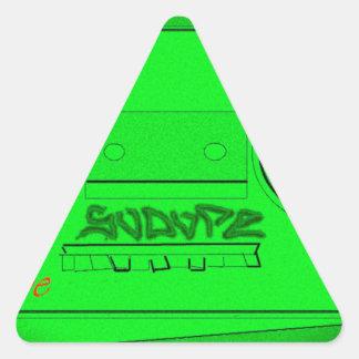 SoDope8 三角形シール