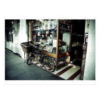 Sohoのバイク ポストカード